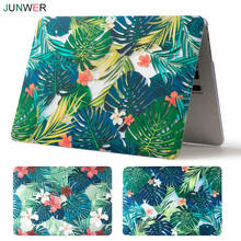 JUNWER Beautiful Print Case For Apple Macbook Air Pro Retina 11 12 13 15 Laptop Case Cover for Mac book Pro 13 15 with Touch Bar(China)
