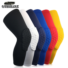 1Pc Honeycomb Sport Safety Volleyball Basketball Kneepad Compression Socks Knee Wraps Brace Protection Knee Pads Calf Leg Sleeve