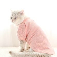Pet Clothes Cat Winter Clothes Cute Sweater for A Cats Clothing for Pets Dresses Sweet Fashion Sport Christmas Suit 50MYF024(China)