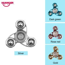 Buy Huanger Finger Hand Spinner Children&Teenage Stress Wheel EDC Anxiety Stress Relief Toys Autism antistress 4 Colour Gift for $4.61 in AliExpress store