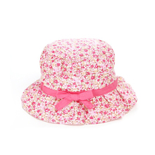 Baby Hats Summer Print Flower Girls Caps Bow Toddle Fisherman Infant Newborn Shade Baby Accessories