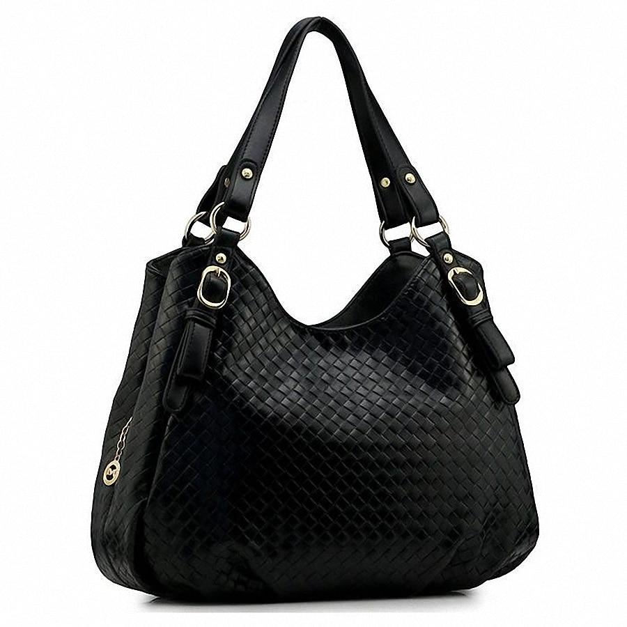 Vintage Leather Women Weave Handbag Zipper Basket High Capacity Elegant Female Bags Women Shoulder Bag Bolsa Feminina LI-1483<br><br>Aliexpress