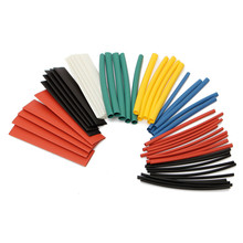 6 Colors 50pcs 90mm Polyolefin 2:1 Halogen-Free Heat Shrink Tube Sleeving Kit 8 Sizes