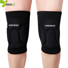 WOSAWE Football basketball Volleyball skateboard Sport Elbow pads knee pads brace support Protect Cycling Kneepad Knee Protector(China)