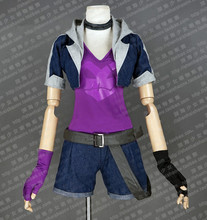 The Loose Cannon Slayer Jinx Cosplay Costume Anime Custom Made Uniform