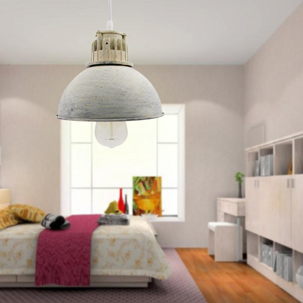 2016 New Gray Industrial Retro Style Art Pendant Light  Edison Light Bulb American Village Lamps Hanging Lamps Luminaries<br>