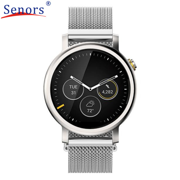 watch strap  Magnetic Loop Stainless Steel Band For Mens 42mm MOTO 360 2nd Watch Oct31 send in 2 days<br><br>Aliexpress