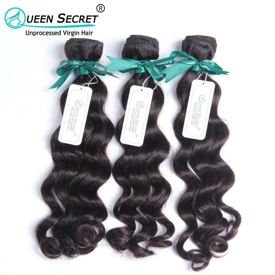 Queen Secret Superior quality 100% 6A human hair extension 4pcs a lot free shipping virgin Peruvian natural wave hair weaving<br><br>Aliexpress