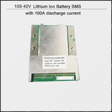10S Li-ion 36V Battey PCB and protection circuit board of 42V 18650 Battery pack with more than 100A constant discharge current