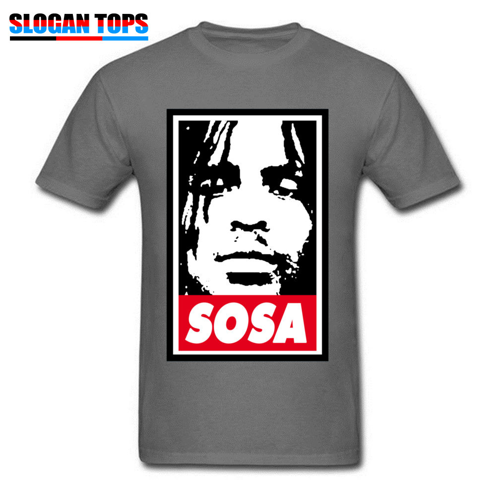 Sosa Chief Keef 1151 Tops Shirts Brand New O Neck Design Short Sleeve All Cotton Men\`s Top T-shirts Street Tees Sosa Chief Keef 1151 carbon