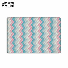 Buy WARM TOUR Colored Lines Non-slip Carpet Welcome Door Mats Indoor Kitchen Entrance Bathroom Living Room Floor Doormat Rug for $14.81 in AliExpress store
