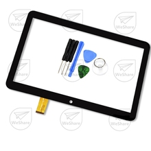 "New 10.1"" Black Touch Screen For RoverPad Air Q10 3G Tablet A1031 Digitizer Panel Sensor Glass Replacement with Repair Tools"