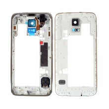 Middle Housing for Samsung Galaxy S5 G900 G900F G900A G900V Middle Frame Back Bezel Repair Replacement Parts