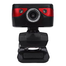 A886 USB 5 Megapixel Built-in Microphone Camera Web Cam with Mic Support Night Vision for Desktop Laptop Skype