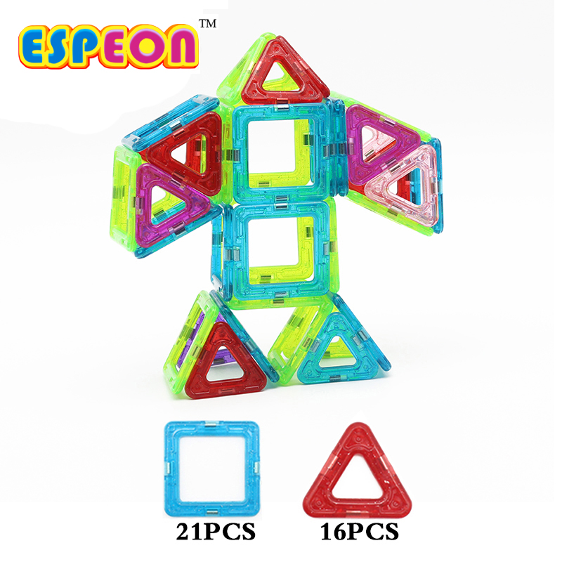 Espeon 37 Pcs Robot Regular Size Enlighten Bricks Educational Magnetic Designer Construction Building Blocks Toys<br><br>Aliexpress