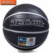 2016 REGAIL Hot Sale Outdoor Indoor Game  Size 7 Small Rubber Pelota Basketball Ball for Baby Child