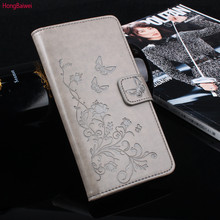 HongBaiwei Case For Leagoo M8 Case 5.7inch Flip Protective Mobile Case For Leagoo M 8 Pro Book Flip Cover Wallet PU Leather Bags