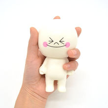 New Cartoon Bun Doll Squishy Scented Kids Soft Stress Reliever Kawaii Toy Exquisite Baby Gift