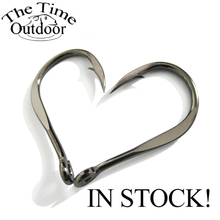 Hight Quality Bulk Sharped fishing hooks Chinu Ring Forged,High Carbon Steel Hook Wholesale 100 pcs/lot Free Shipping(China)