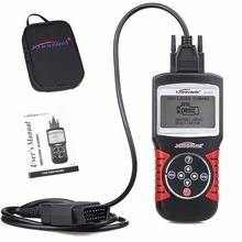 Hight quality KW820 Diagnostic-tool EOBD OBD2 OBDII 2 Vehicle Engine fault Diagnostic Code Readers &Scanner Tools