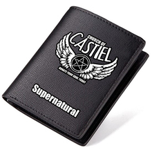 Zshop Super Nature Power Evil Demon Saving People Huntng Things Thriller Drama Sam Winchester Dean PU Leather Wallet(China)