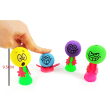 2PCS Plastic Bounce Shock Joke Toys Shocking Gadget Prank Toy Trick for Childeren Kids Party Suppliers Wholesale(China)