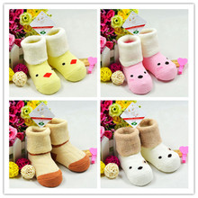 New Arrival Baby Cartoons Socks Cute 5 Patterns Thick Whole Cottons Infant Toddler Boy Girl Baby Socks Sox Active SA852379