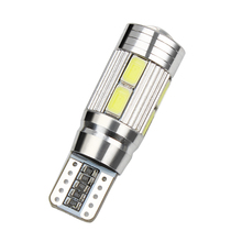 5630 SMD 10 LED Bulbs 5W Light Source DC 12V T10 LED Car Turn Signal Lights Parking Braking Lamps Indicators CANBUS Car-styling(China)
