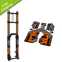 Buy 2018 FOX40 front Fork replacement Stickers mountain bike bicycle MTB front fork Fox 40 protective decoration vinyl racing decals for $11.39 in AliExpress store