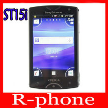 Original Sony Ericsson Xperia mini ST15i Mobile Phone Unlocked 3G WIFI 5MP A-GPS Android Phone & One Year Warranty