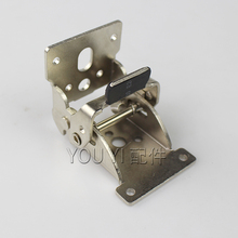 Furniture hardware folding hinge 90 degree locking and 180 degree locking mechanism for table