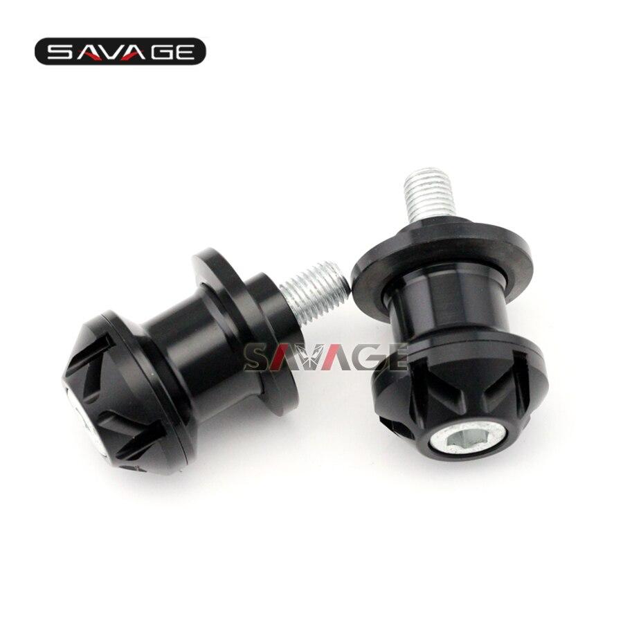 For KAWASAKI ER-4N ER6 ER-6N ER-6F KLE650 VERSYS Motorcycle CNC Aluminum Swingarm Spools Slider Stand Screws 10mm<br><br>Aliexpress