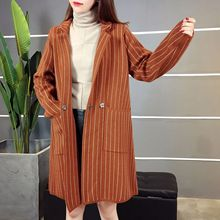 New Winter Fashion Sweater Cardigan Coat Loose Code Fringe In The Long Section Of Female Rabbit Hair Knitted(China)