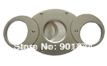 FUNNY  CIGAR CUTTERS NO RIVET - SELF SHARPENING STAINLESS STEEL DOUBLE-BLADES  ROUND DESIGN,21PC/LOT-FREE SHIPPING
