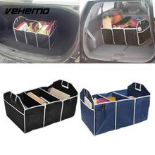 Vehemo Auto Car Collapsible Trunk Bag Trunk Organizer Toys Food Cargo Storage Bags Box Car Truck Storage Bag