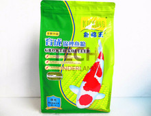 Fish food 454g 1000g pond Japan koicryprinus carpiod pellets granules aquarium cyprinus carpio koi color spirulina small feed(China)