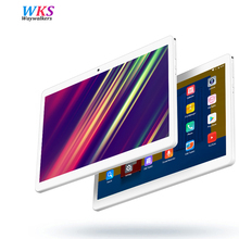 Free shipping 10.1 inch tablet pc Android 7.0 octa core RAM 4GB ROM 32/64GB Dual SIM card bluetooth GPS 1920*1200 IPS tablets pc(China)