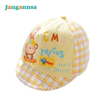 Cute Cotton Baby Hats For Boys Fashion Baseball Infant Caps With Character Beanies Girl Summer Accessories Baby Boys Clothing
