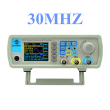 3pcs/lot by dhl or fedex JDS6600 30MHZ Dual-channel DDS Function  Digital Control Signal Generator frequency meter  43%off