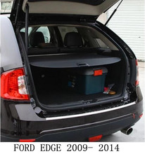 JIOYNG Car Rear Trunk Security Shield Cargo Screen Shield Shade Cover Fit For FORD EDGE Edge 2009 2010 2011 2012 2013 2014(China)