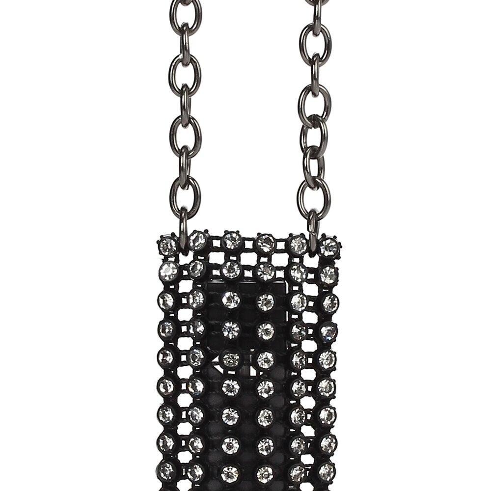 DP0901B women crystals pendant necklace designed for Juul Vape e cigarette pouch  (5)