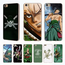 one piece roronoa zoro style clear phone shell Case for Redmi 3s 4x 4A Note3 note4 case for Xiaomi Mi 6 5 5s