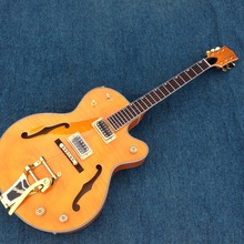 1965 GT custom shop  electric guitar with bigsby bridge ,gold hardware