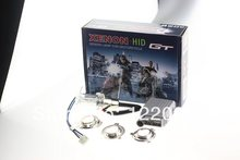 High intensity discharge Motor/Motorcycle Bike Hid Lights Kit H6 Hi/Low Xenon Bulbs 2600lm 12V 35W 6000K Freeshipping AAA