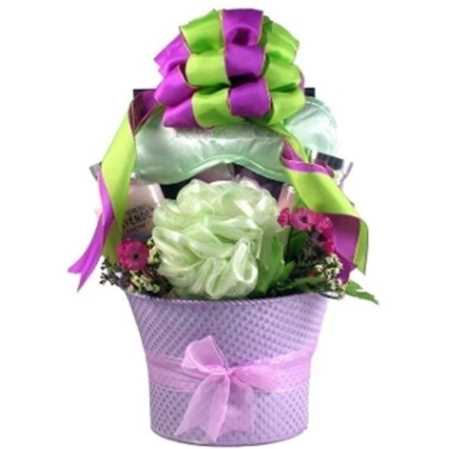 Gift Basket Village LaFi Lavender Fields Spa Gift Basket For Her