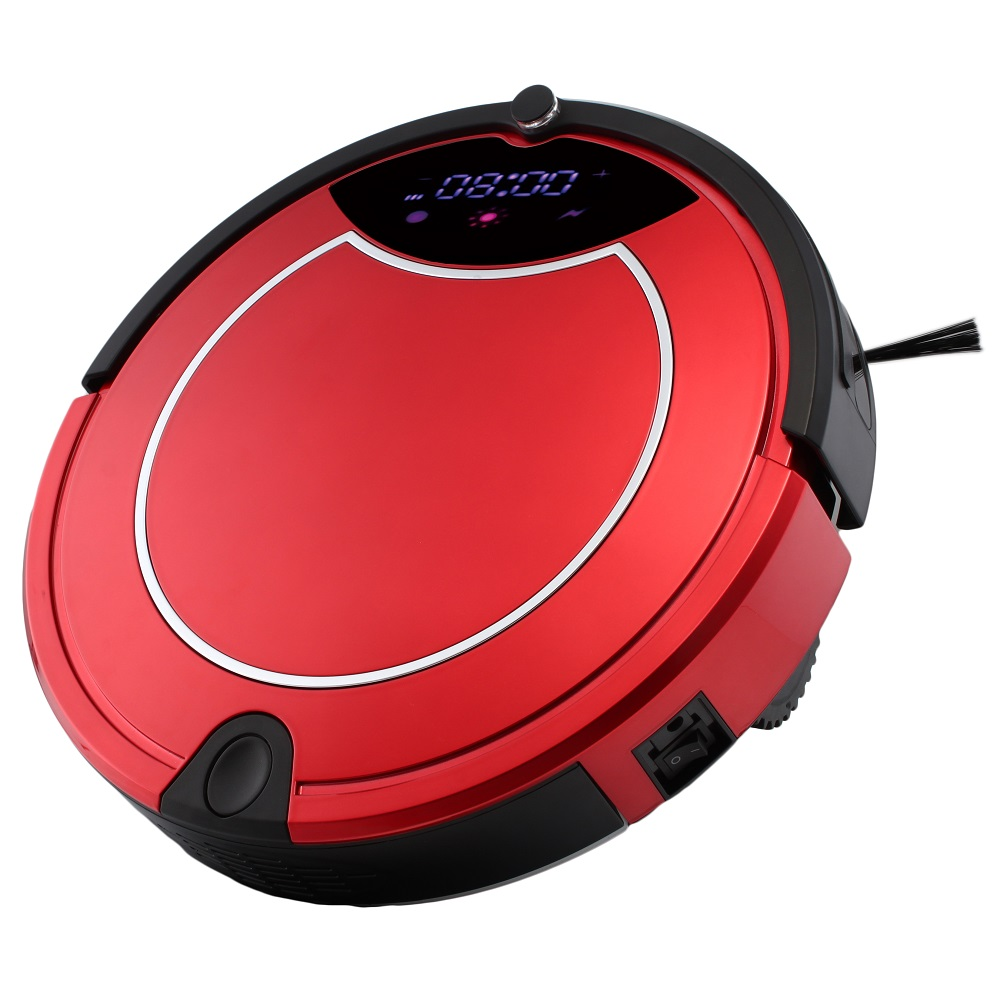 Vacuum Robot Home/Office Cleaner Automatic Charging 2200mAh Battery 600ml Dust Box Sweep/Suction Smart Planned Cleaning Robot(China (Mainland))