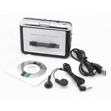 USB Cassette Tape Converter Converter Music Player Audio Capture Platform for PC MP3(China)