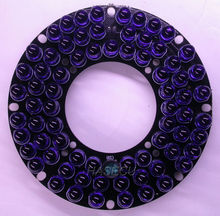 Infrared 72 (5mm) IR LED  board for CCTV cameras night vision (diameter 71.5mm)