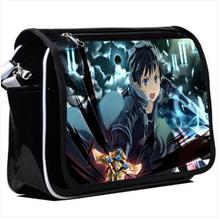 Anime Sword Art Online Cosplay  Student campus men and women casual fashion shoulder bag Messenger bag birthday gift