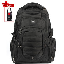 Swisswin high quality 2016 designer brand swissgear backpack school backpacks 15.6 inch laptop bag men's travel bags+Free Gift